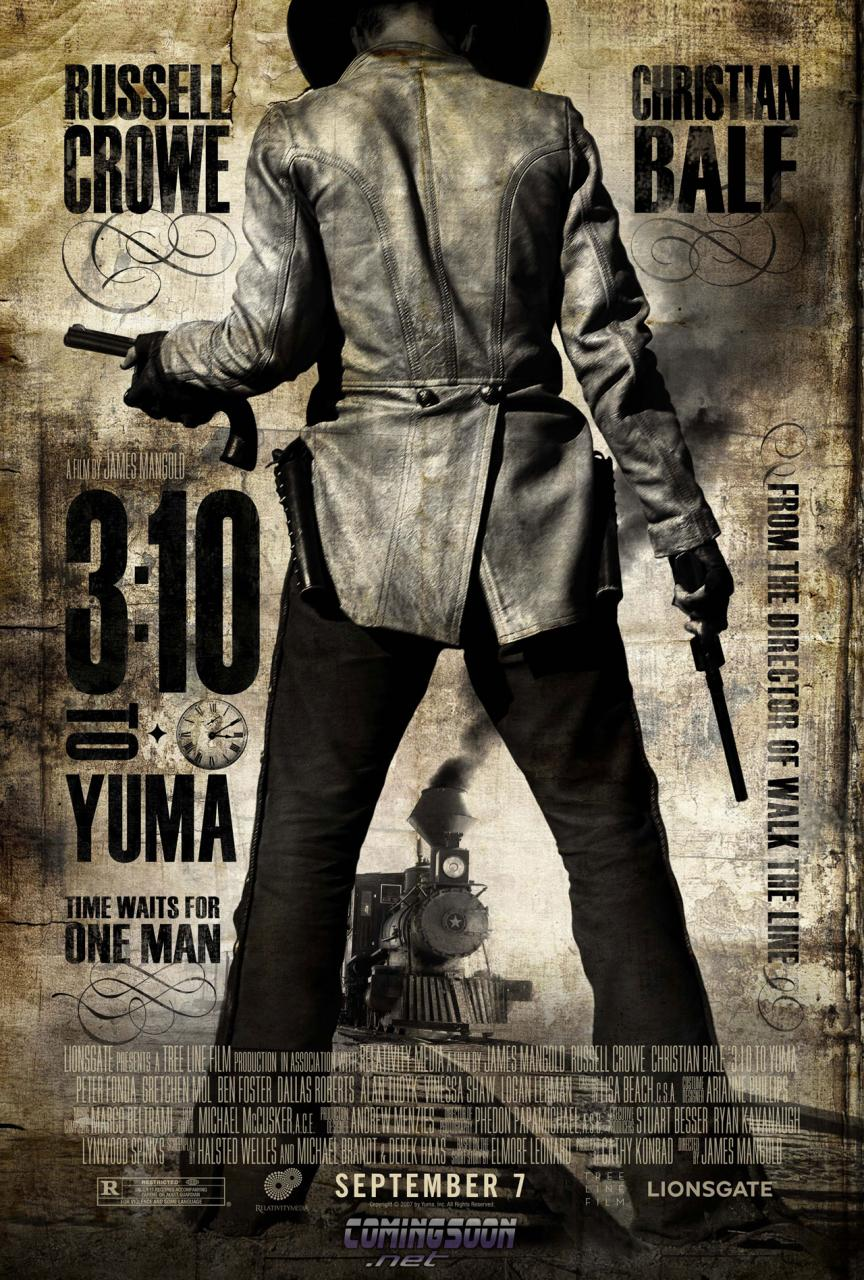310 Best Images About Tarot On Pinterest: Póster Y Trailer De 3:10 To Yuma