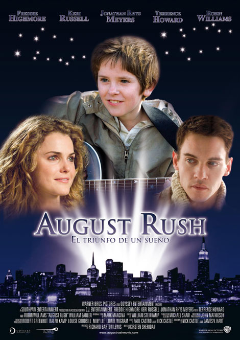 August Rush: cartel y tráiler