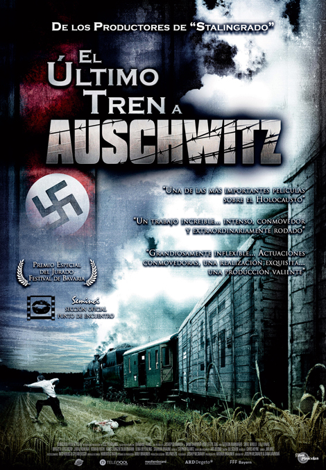 El ltimo tren a Auschwitz: cartel y triler