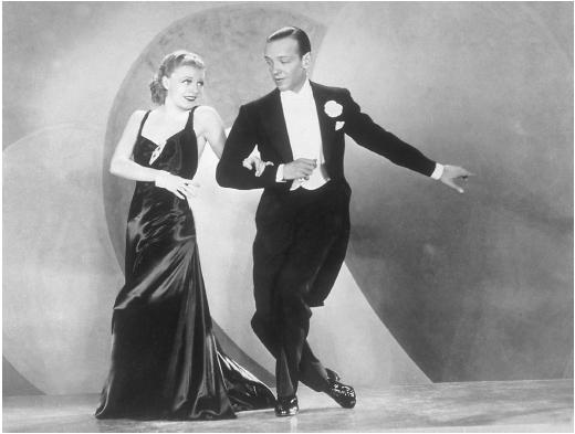 Parejas míticas Fred-astaire-ginger-rogers