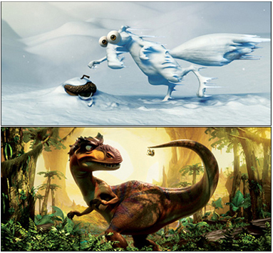 Imagénes y teaser de Ice Age 3: Dawn of the Dinosaurs