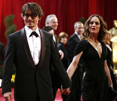 Johnny Depp dirige el video de su esposa