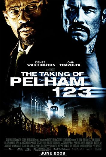 The Taking of Pelham 123: teaser póster y tráiler original