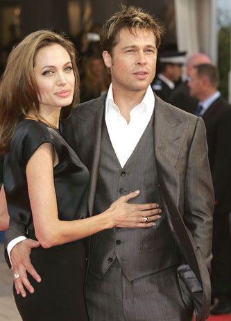 Pitt y Jolie juntos en Cannes