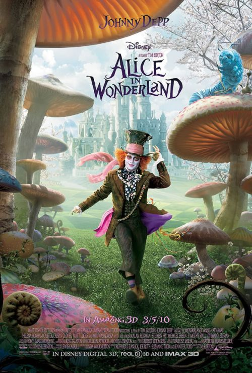 Alice in Wonderland: tercer teaser pster