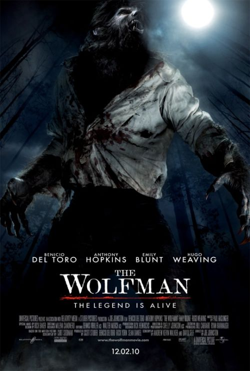 The Wolfman: tres nuevos psters
