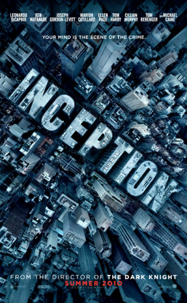 Inception: segundo póster y tráiler