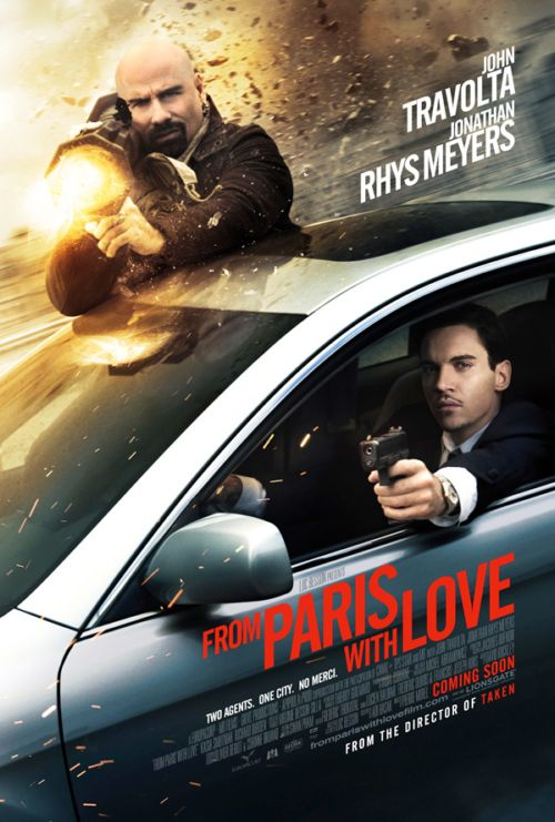 From Paris with Love: teaser póster y segundo tráiler