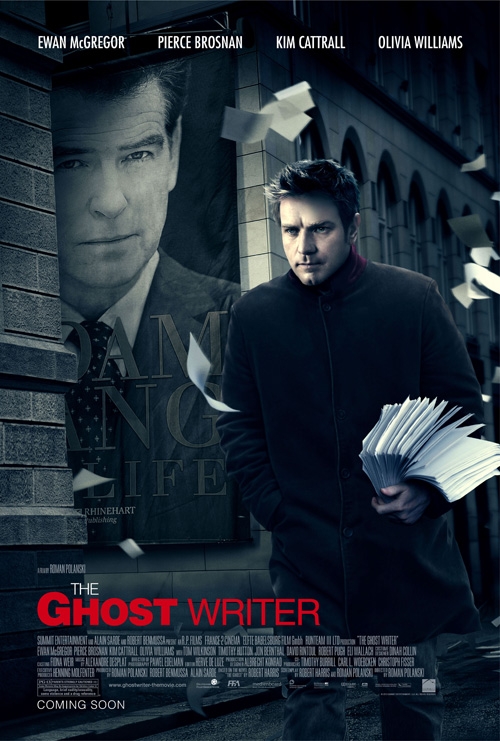 The Ghost Writer: teaser póster oficial