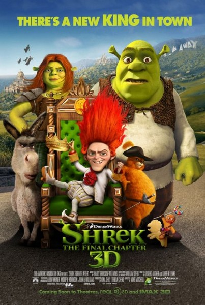 Nuevos pósters: Shrek Capítulo Final y The Karate Kid
