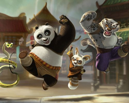 Kung Fu Panda: The Kaboom of Doom rene a su csting