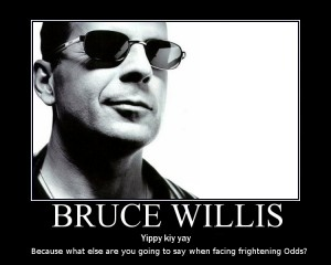Bruce Willis rueda en Espaa