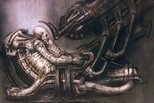 Trabajar H.R. Giger en las precuelas de Alien?