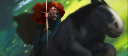 Brave, lo prximo de Pixar: primeras imgenes