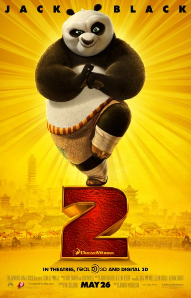 Nuevo triler y psters de Kung Fu Panda 2