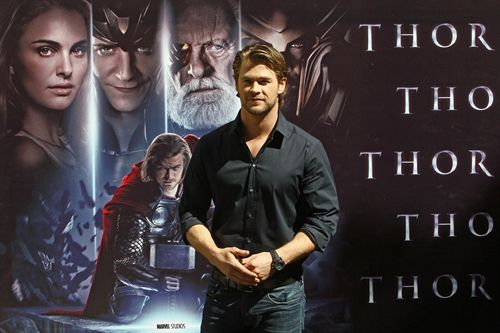 Chris Hemsworth presenta Thor en Madrid