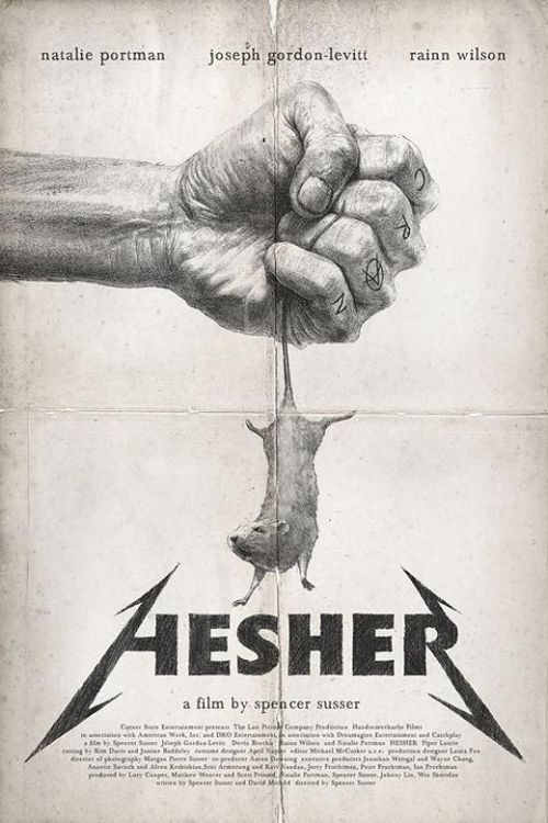 Hesher: pster y segundo teaser triler