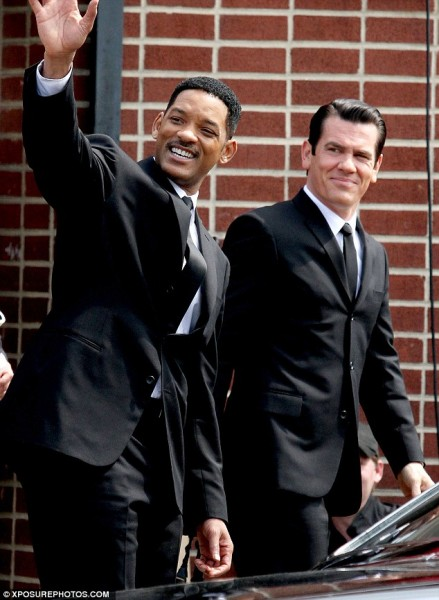 Men In Black 3: primeras fotos de Josh Brolin