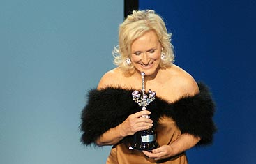 Glenn Close recibe el premio Donostia