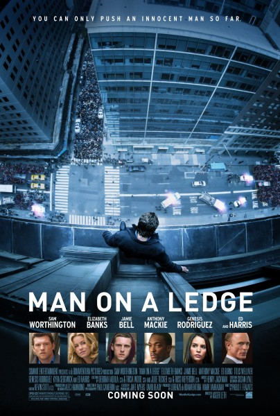 Man on a Ledge: primer póster y tráiler actores