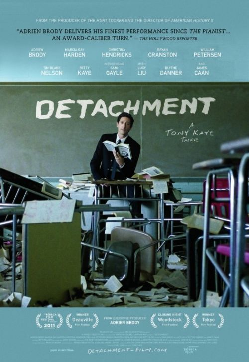 Primer pster y triler de Detachment con Adrien Brody