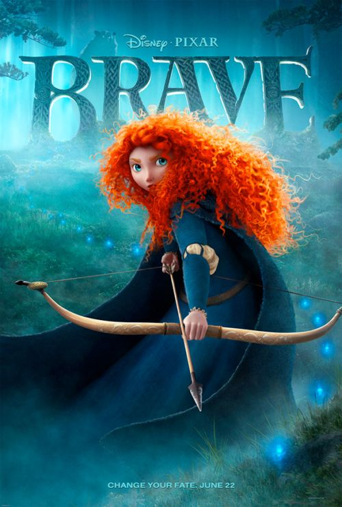 Increble pster y nuevo triler de Brave, lo nuevo de Pixar
