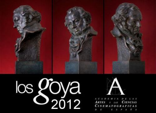 Premios Goya 2012: listado de ganadores