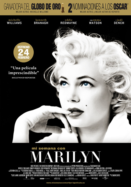 Primer triler espaol de Mi semana con Marilyn
