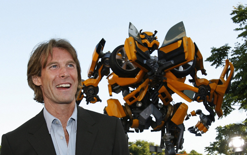 Michael Bay s dirigir Transformers 4