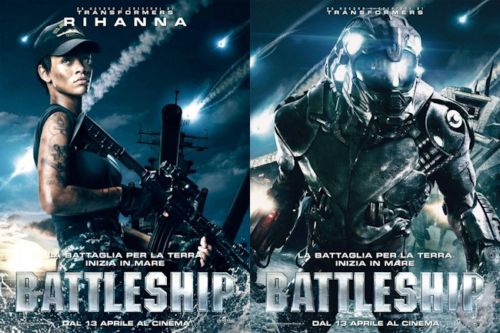 Tercer triler y psters de personajes para Battleship