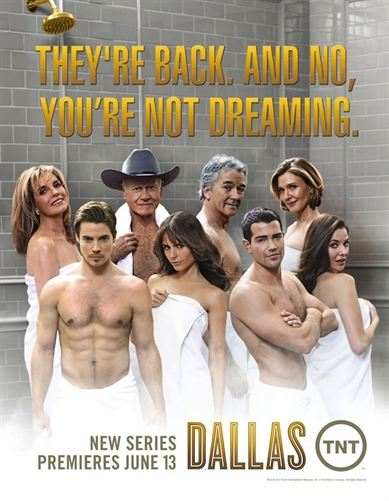 Cartel del remake de Dallas