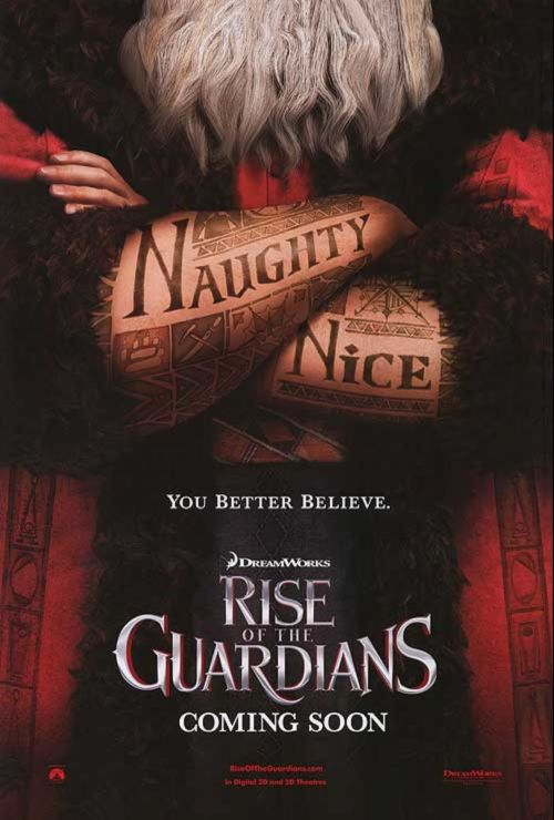 Primeros tráilers de Rise of the Guardians y Hotel Transylvania