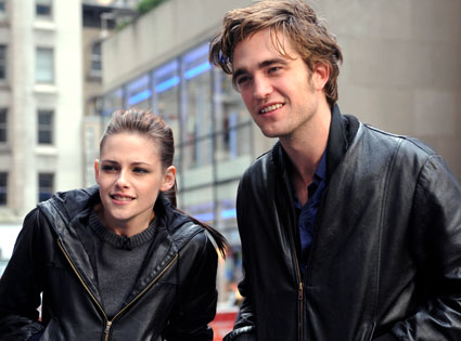 Robert Pattinson y Kristen Stewart rodarn extras para Amanecer parte 2