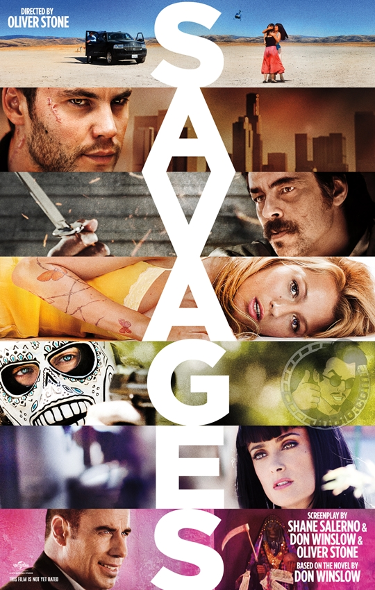 Primer cartel de Savages