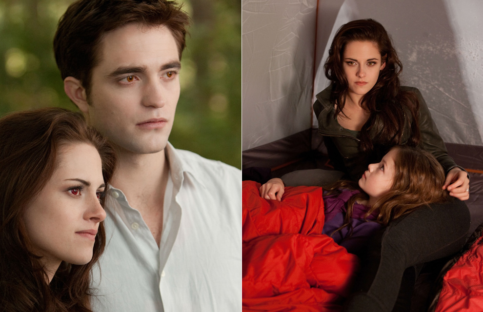 Renesmee, la hija de Edward y Bella en la saga Crepsculo