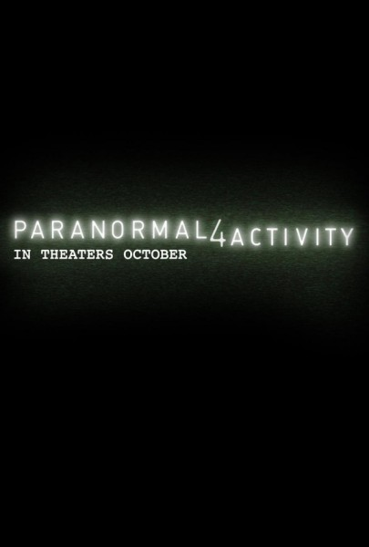 Primer pster y teaser triler de Paranormal Activity 4