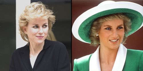 Naomi Watts es la Princesa Diana de Gales: primeras imgenes