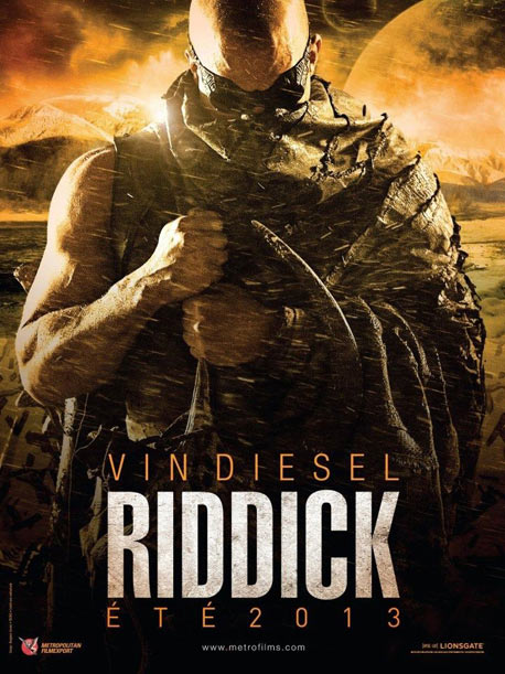 La tercera parte de Riddick, llegar al cine en septiembre 