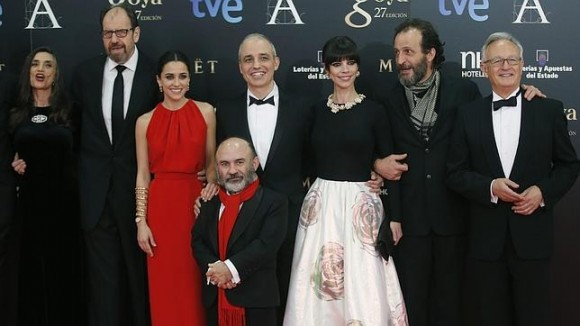 Blancanieves la gran triunfadora en los Goya 2013