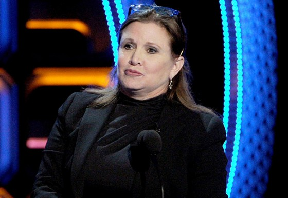 ¿Será cierto que Carrie Fisher estará en Star Wars episodio VII?