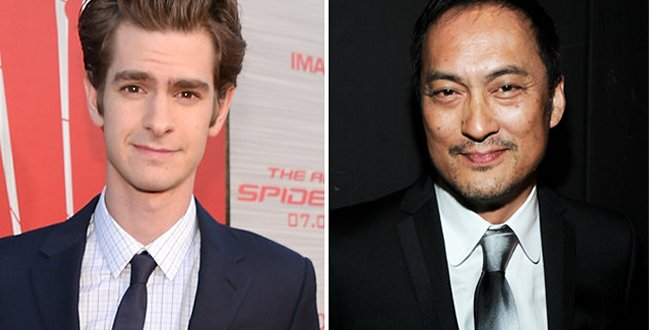 Andrew Garfield y Ken Watanabe como estrellas de Silencio