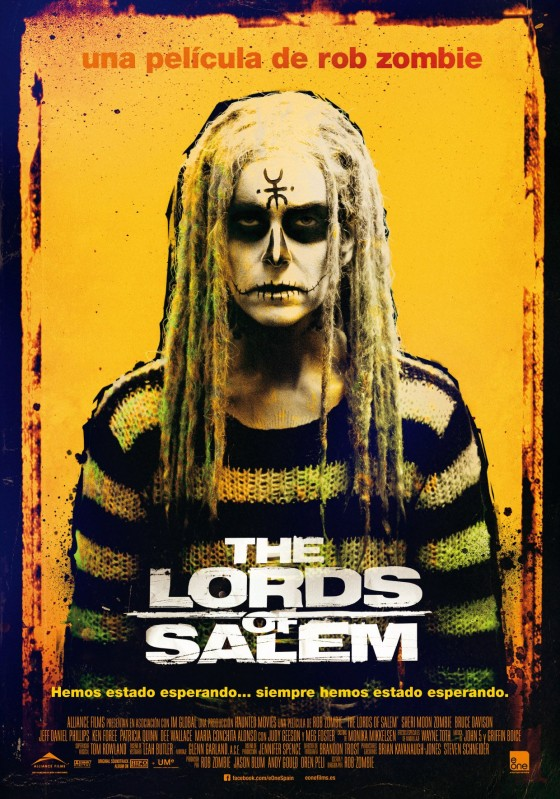 Rob Zombie estrena The Lords of Salem