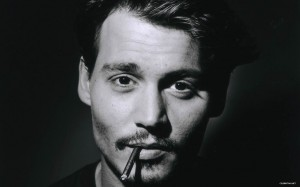 Johnny Depp enamorado
