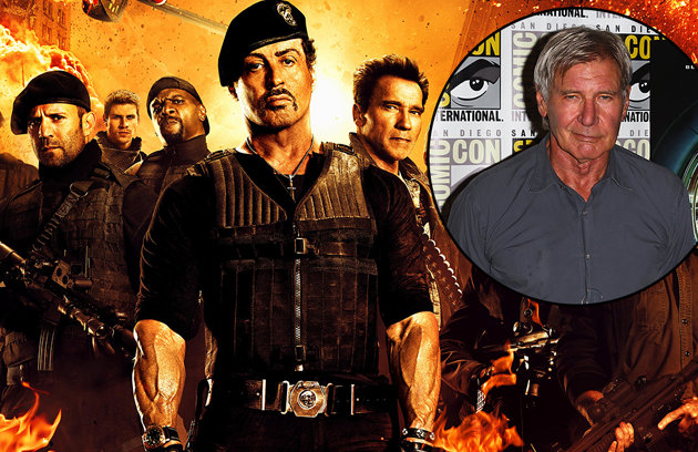 Harrison Ford participará de The Expendables 3