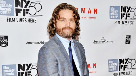 Zach Galifianakis será el Joker de Lego Batman