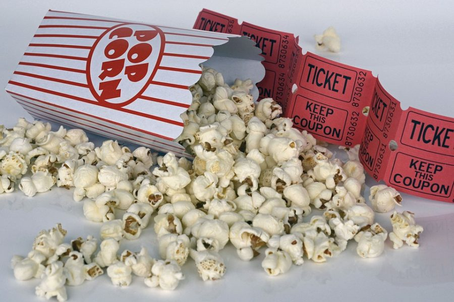 Ticket Entertainment Cinema Film Food Popcorn